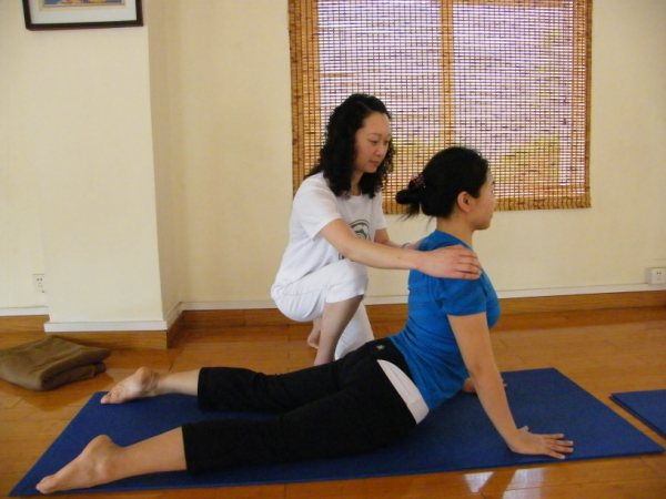 yoga privélessen te Genk, Limburg